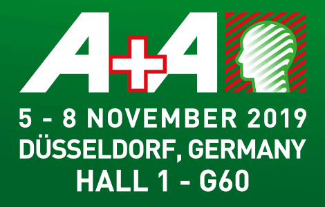 A+A - 5-8 November 2019 - Düsseldorf, Germany - Hall 1 - G60